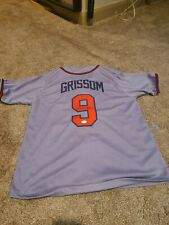 Marquis Grissom Autographed Jersey Braves JSA