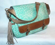 Fossil Extra Large Satchel Bag  - Light Blue