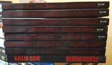Lot of 8 TSPB in Pulse series by Kailin Gow~Pulse/Life's Blood/Blood Burns + 5