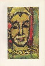 "1961 Vintage ROUAULT ""ONESIMUS"" WOW! LOVELY FAMOUS COLOR Art Print Lithograph"