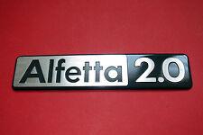 Alfa Romeo Alfetta 2.0 rear emblem / script. NOS