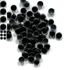 Round Smooth Nailheads 1.5mm   BLACK  Hot fix  1 gross