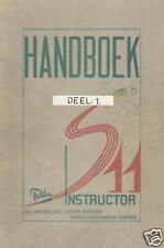FOKKER S-11 INSTRUCTOR / DEEL I / BESCHRIJVEND HANDBOEK