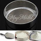 Stainless Steel Mesh Flour Sifting Sifter Sieve Strainer Cake Baking Kitchen E