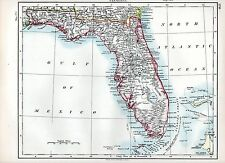 1897 Victorien Carte ~ Florida