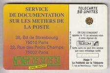 VARIETE TELECARTE FRANCE .. 50U F136B SC5 T6 LA POSTE 0 ENVERS GE.21503 TBE C70€
