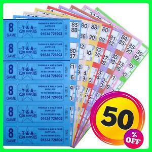 Bingo Tickets Bingo Books 3000 8 Page 8 Game 6 To View Bingo Books