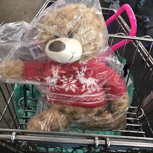 Avon 2015 Collectible Christmas plush Teddy Bear