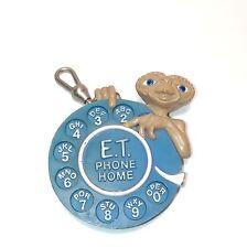 E.T. ET Extra Terrestrial Alien Phone Home Keychain 1984 Universal Studios
