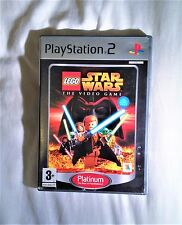Lego Star Wars The Video Game Platinum Edition PS2 Complete