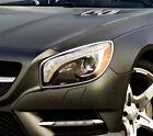Chrome Head Light Trim Bezel Surrond Rim Cover For Mercedes Benz R231 SL-Class