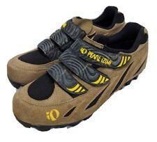 Pearl Izumi Mens I Beam 5002 Bike Cycling Shoes Brown Hook Loop Fasteners Size 9