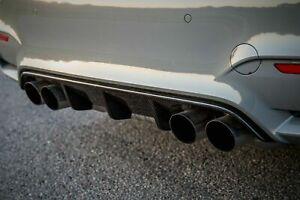 Carbon Diffusor V1 für BMW M3 M4 F80 F82 F83 Heckschürze Heckansatz ❗️ B-Ware