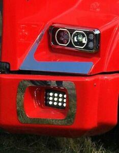Kenworth W900 T800 T600 Black Projector Headlight # 14399