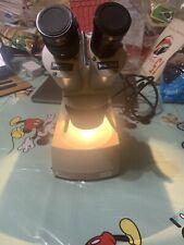 Vintage Meiji Techno Microscope Model Skt31006 Rare And Working School Science