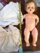 Horsman Dolls Inc- with open/shut eyes- Vintage Antique Baby Doll.