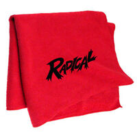Radical Red Microfiber Bowling Towel -Brand New Item-Free Shipping!!