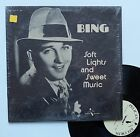 """Vinyle 33T Bing Crosby """"Soft lights and sweet music"""""""