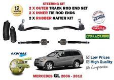 pour Mercedes GL X164 2006- > extérieur + intérieur direction support attache