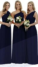 New Formal Long Chiffon Evening Party Ball Gown Prom Bridesmaid Dress Size 6-24