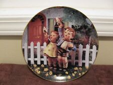 "M J Hummel ""Come Back Soon"" Little Companions Danbury Mint 1992 Plate Mb509"