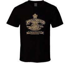 Royal Enfield Retro Motorcycles shirt black white tshirt men's free shipping