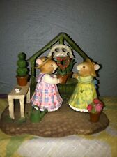 "Holly Pond Hill by Susan Wheeler ""Best Friends Forever"" figurine"