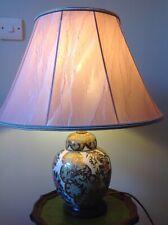 Vintage Ceramic Gregorys Ltd Table Lamp Model 269 Fantastic Condition