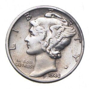 CHOICE - 1944-D Mercury Dime - Mint Marked - TOUGH Coin! *366