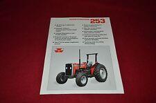 Massey Ferguson 253 Tractor Dealer's Brochure Yabe