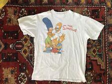 vtg 89  The Simpsons t shirt Xl Bart Simpson Homer Marge Lisa Maggie Mac demarco