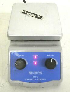 Microyn SH-2 Magnetic Stirrer Hotplate, 12cm x 12cm (~5x5 inch)