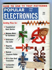 Popular Electronics Magazine June 1961 Bulding Plans EX 033116jhe
