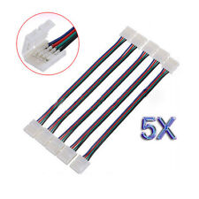 5pz PCB LED adattatore del connettore a 4pin 5050 Monocolor e striscia di RGB HK