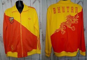 VTG Adidas XL Bhutan Dragon Tracksuit Yellow Track Jacket Same worn in Step Up 2