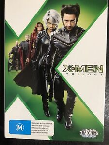 X-Men Trilogy 3 Discs DVD X-Men / X-Men 2 / X-Men The Last Stand Region 4