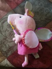 Ty Peppa Pig beanie baby Fairy outfit