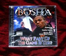 Bosha - What Part of the Game Is This G-funk Rare!!! 11/5, 2-11, Neva legal...