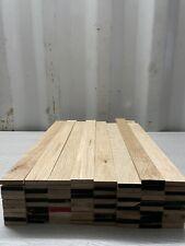 Oak TImber - Natural Wood- Offcuts - Hardwood 80 Pieces 48mm X 10mm X 500mm long