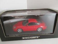 MINICHAMPS 1/43 PORSCHE 911 2001 RED ROSSO COD. 400061024