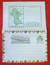 MayfairStamps Guyana Map 25 Cents Mint Postal Stationery WWE95985