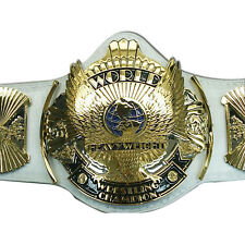 WWF World Heavyweight Wrestling Championship Replica Belt