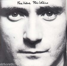 PHIL COLLINS Face Value CD Pre Barcode - Germany