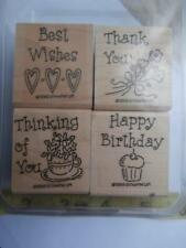 Rubber Stamps Stampin' Up Simple Wishes Scrapbooking Cards Paper Crafts