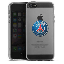 Apple iPhone 5s Silikon Hülle Case - PSG 3D Logo