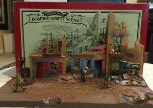 AM189 World war Britains Bombed Street Scene set 00159 terrain building diorama