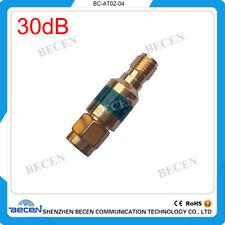 2W SMA 30dB Attenuator Plug male to Jack female 2Watt DC-6Ghz