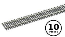 "HO/OO Peco SL-8300 Code 83 Nickel Silver Flex Track (Wooden Ties) - 10x 36"" Pcs"