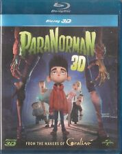 PARANORMAN Blu-Ray 3D [2012] New & Sealed