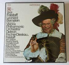 Verdi Falstaff Bernstein Vienna PO Fischer-Dieskau 3 LP Set - SEALED IMMACULATE